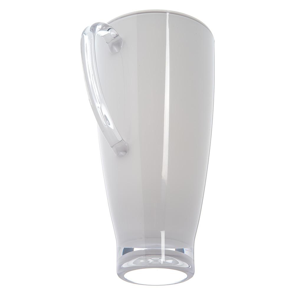 Carlisle EP3002 74-oz Pitcher w/ Lid, Plastic, White