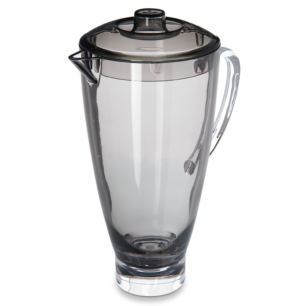 Carlisle EP3018 74-oz Epicure Pitcher - Tritan, Smoke Gray