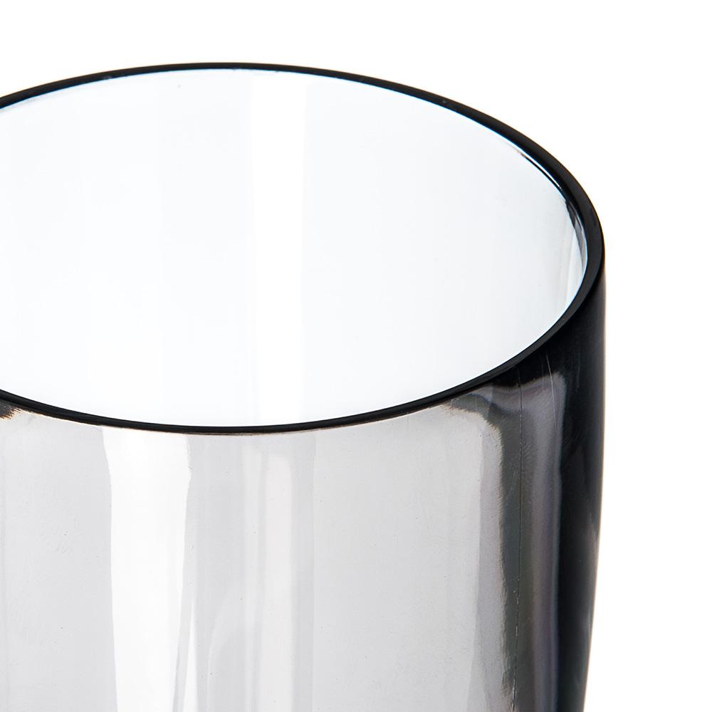 Carlisle EP4018 22-oz Hi-Ball Glass - Plastic, Smoke Gray
