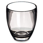 Carlisle EP5018 14-oz Epicure Double Old Fashioned Glass - Tritan, Smoke Gray