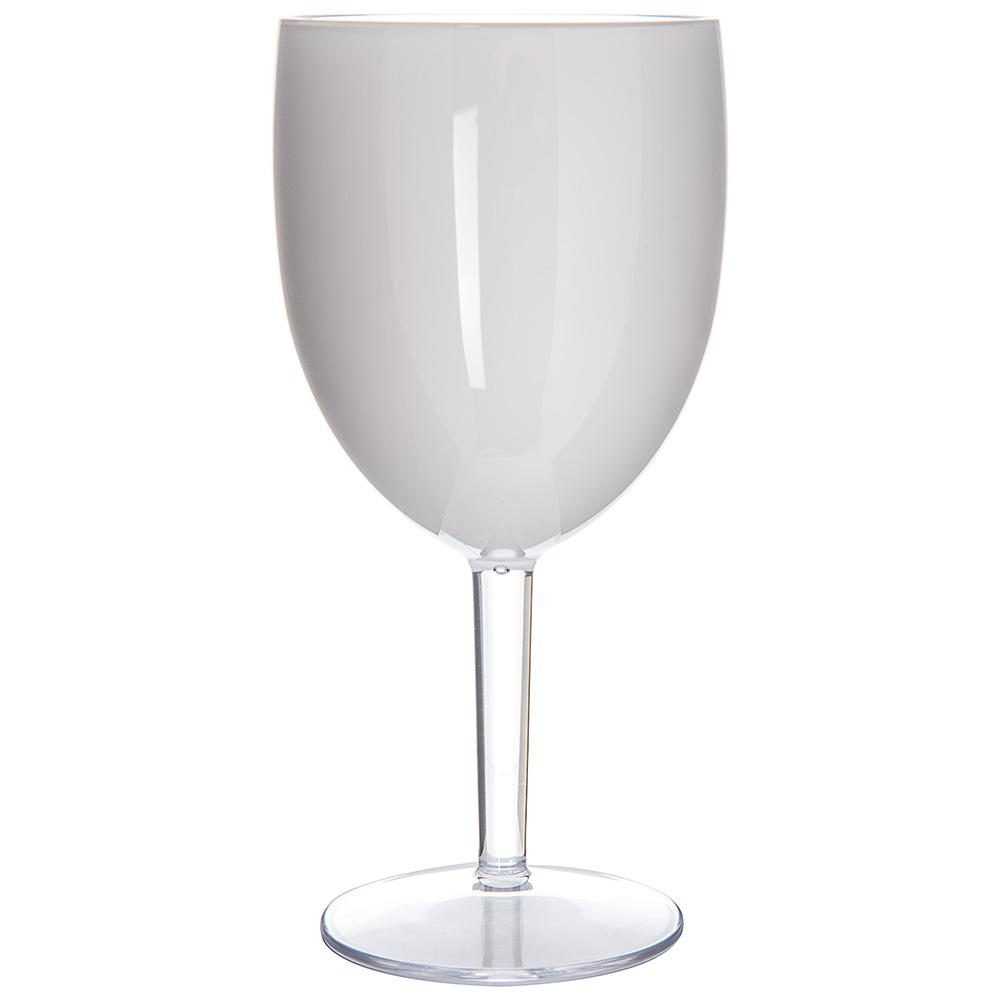 Carlisle EP6002 15.2-oz White Wine Goblet - Plastic, White