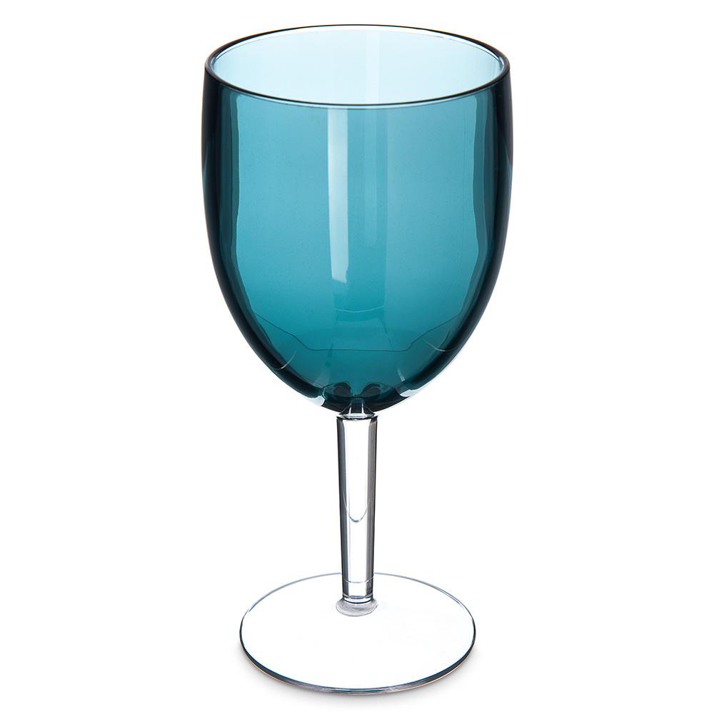 Carlisle EP6015 15.2-oz White Wine Goblet - Plastic, Aqua
