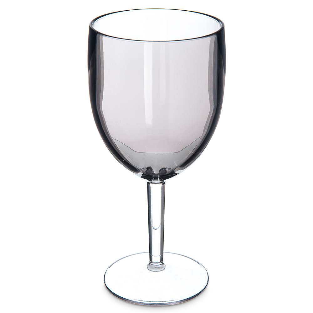 Carlisle EP6018 15.2-oz White Wine Goblet - Plastic, Smoke Gray