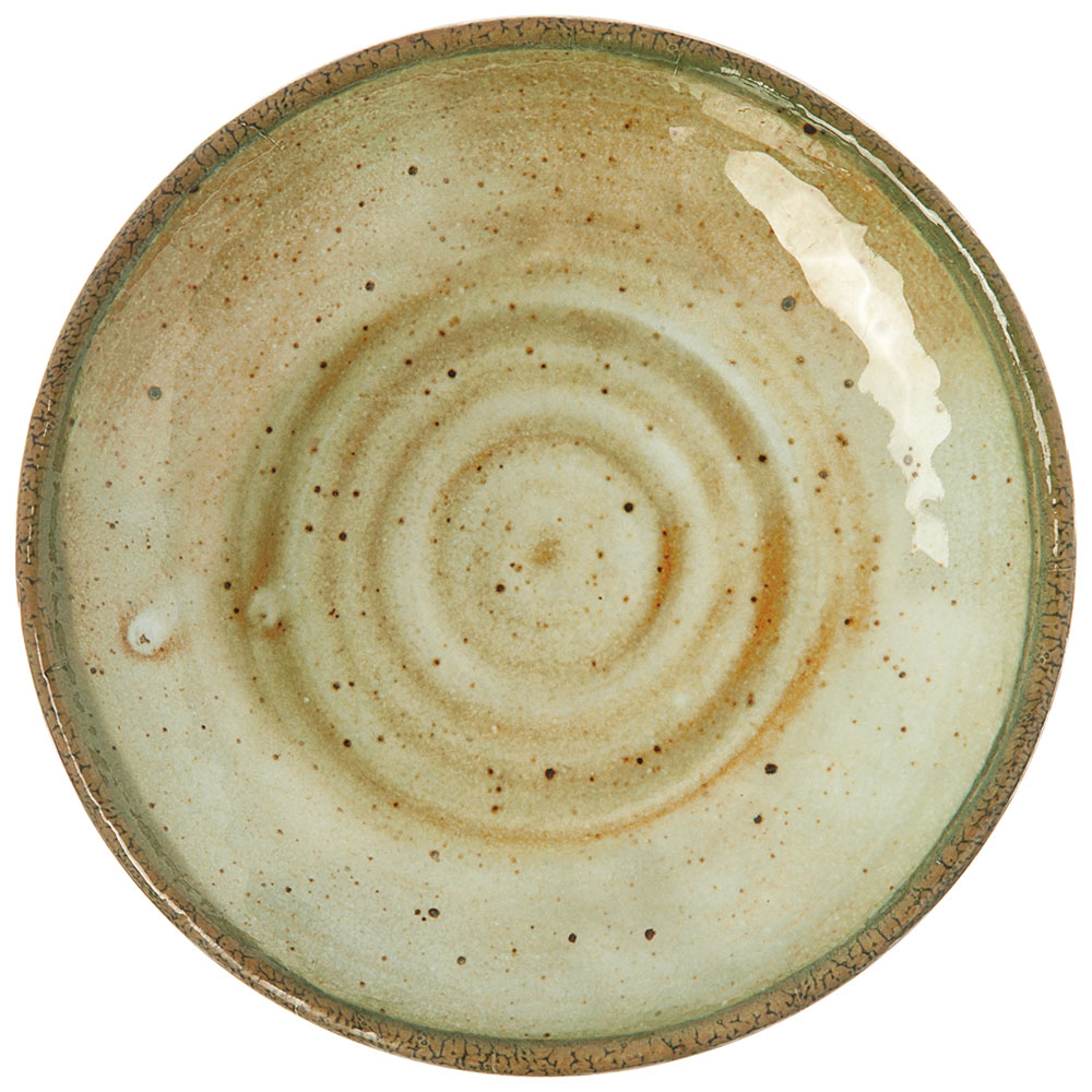 "Carlisle GA5500270 9"" Gathering Round Salad Plate - Melamine, Adobe"