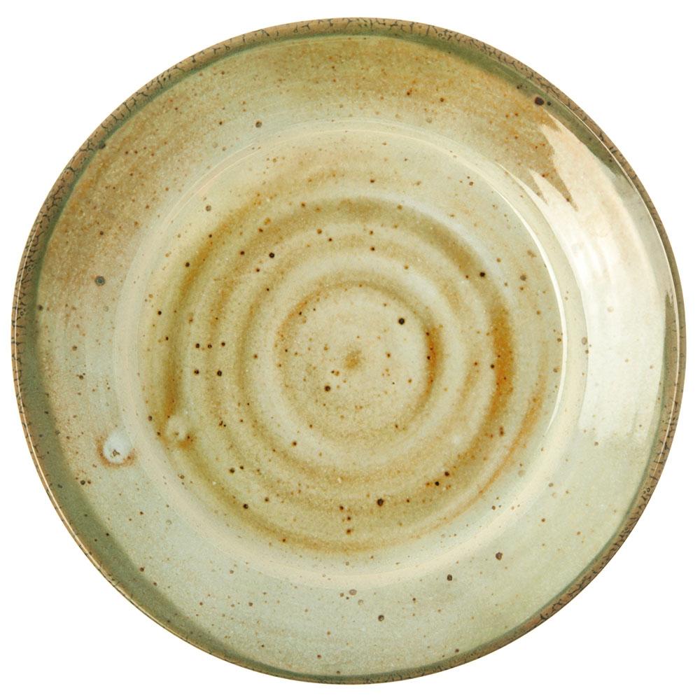 "Carlisle GA5501370 12.5"" Gathering Round Charger Plate - Melamine, Adobe"