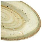 "Carlisle GA5501470 Oval Platter - 12"" x 8"", Melamine, Adobe"