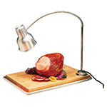 "Carlisle HL8195B00 Countertop Carving Station - 39"" Flex Arm, Maple Cutting Board, Aluminum 120v"
