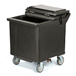 "Carlisle IC225003 125-lb Ice Caddy - Lift Up, Flat Top, 28.75"" H"