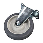 "Carlisle IC225CR00 5"" Rigid Plate Caster"