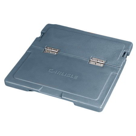 Carlisle IC225LH59 Cateraide Hinged Lid Assembly - Polyethylene, Slate Blue