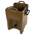 Carlisle IT100043 10-gal Cateraide Insulated Beverage Dispenser - Caramel