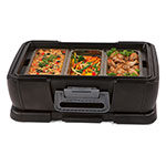 Carlisle IT14003 12-qt Cateraide Top Loading Insulated Food Carrier - Onyx Black