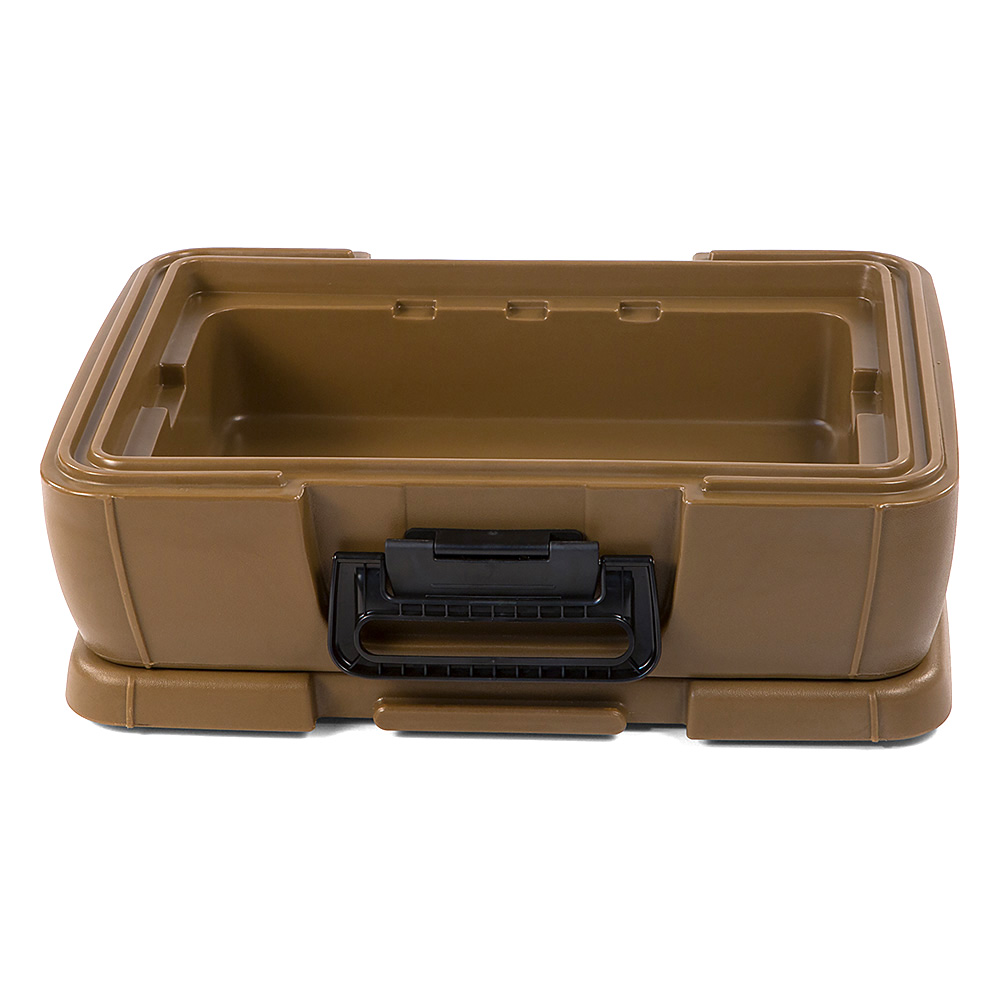 Carlisle IT14043 12-qt Cateraide Top Loading Insulated Food Carrier - Caramel