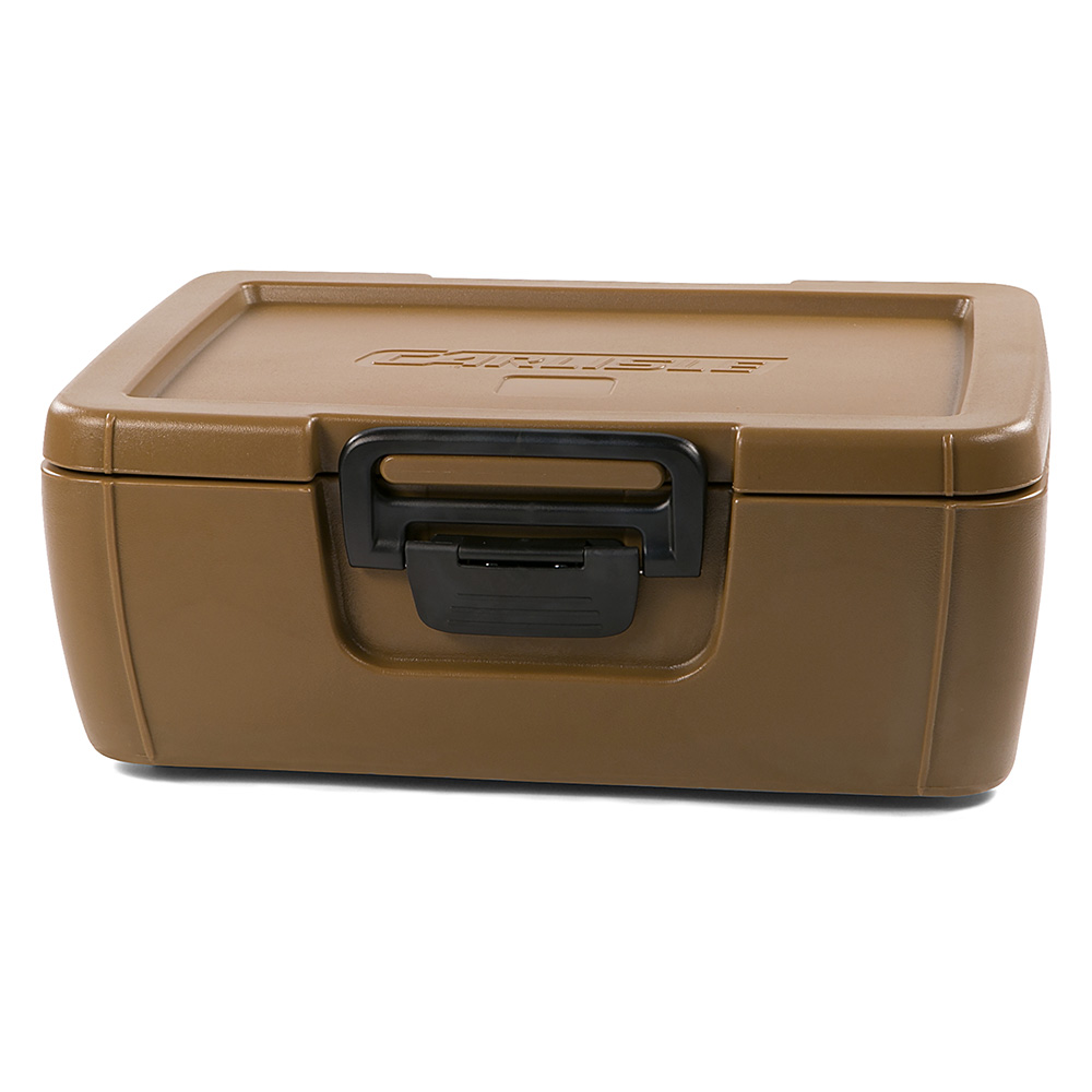 Carlisle IT16043 18-qt Cateraide Top Loading Insulated Food Carrier - Caramel