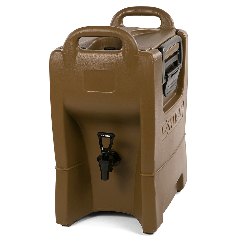 Carlisle IT25043 2.5-gal Cateraide Insulated Beverage Dispenser - Caramel