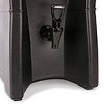 Carlisle IT50003 5-gal Cateraide Insulated Beverage Dispenser - Onyx Black