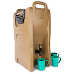 Carlisle IT50043 5-gal Cateraide Insulated Beverage Dispenser - Caramel