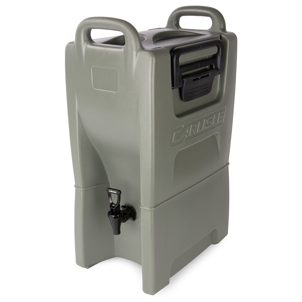 Carlisle IT50062 5-gal Cateraide Insulated Beverage Dispenser - Olive Green