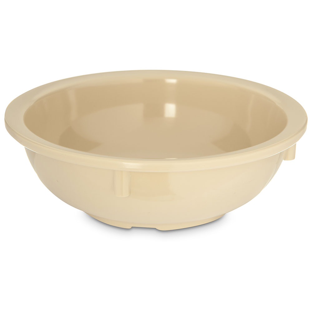Carlisle KL10825 14-oz Kingline Nappie Bowl - Melamine, Tan