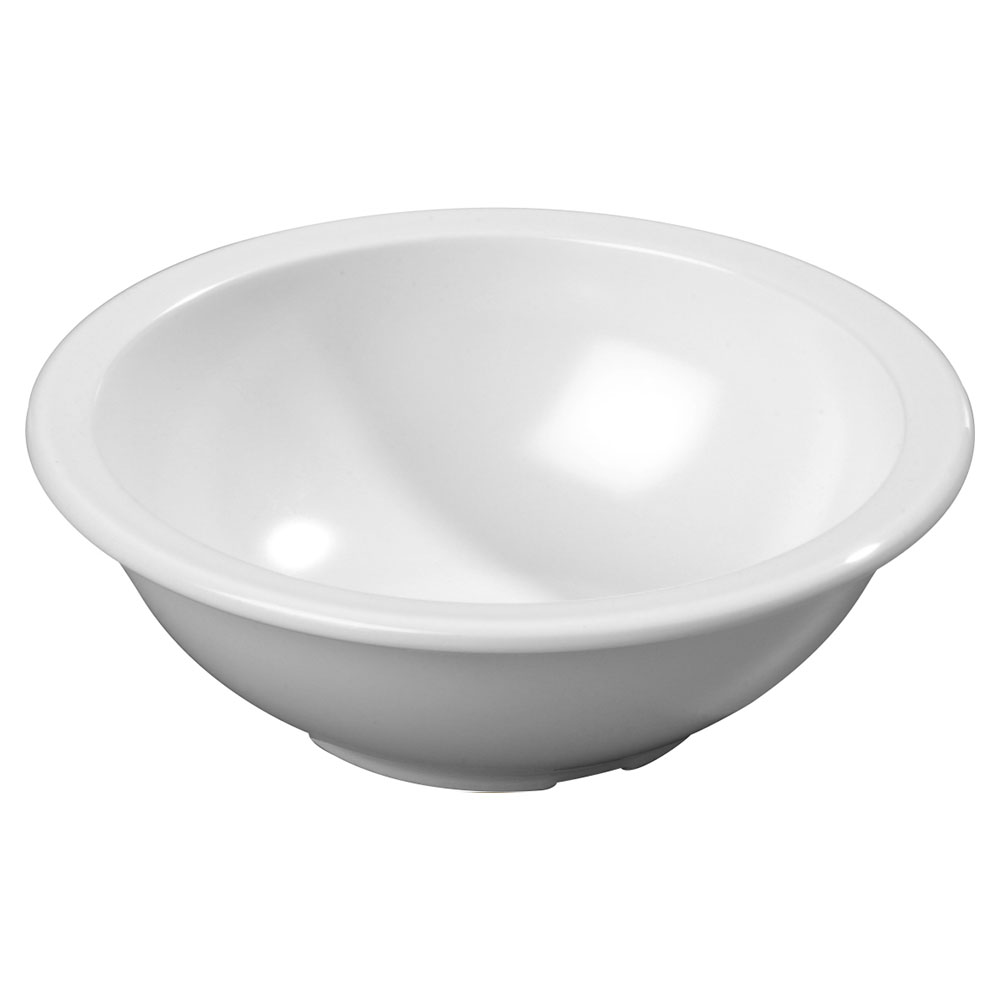 Carlisle KL11502 16-oz Kingline Chowder Bowl - Melamine, White