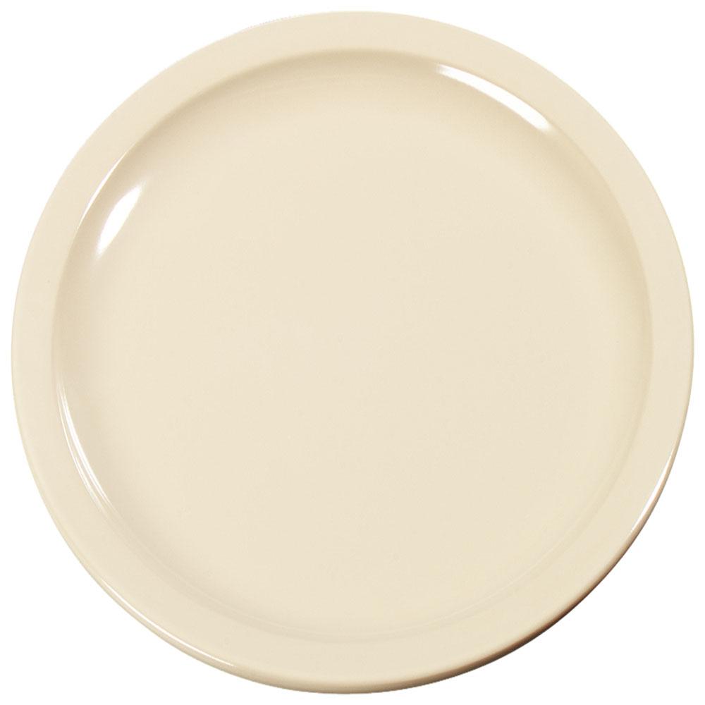 "Carlisle KL11625 10"" Round Dinner Plate - Melamine, Tan"