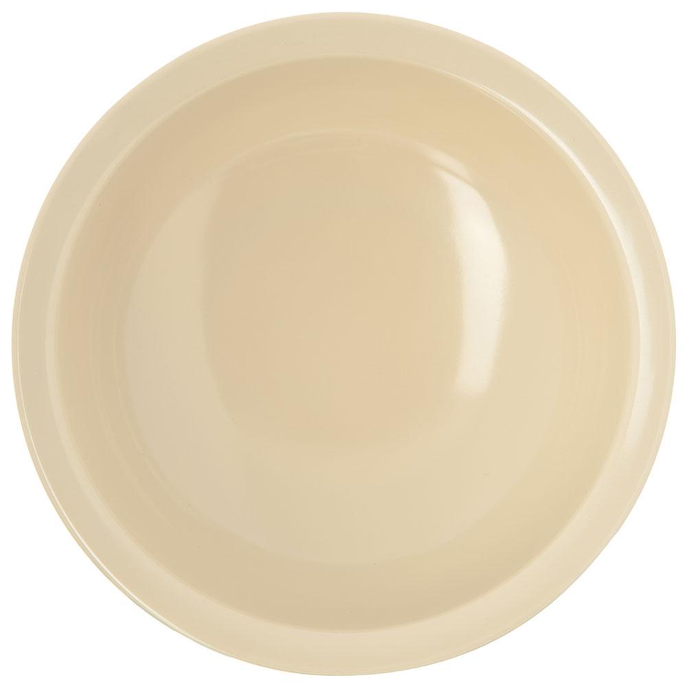 "Carlisle KL11825 5.125"" Round Nappie Bowl w/ 10-oz Capacity, Melamine, Tan"