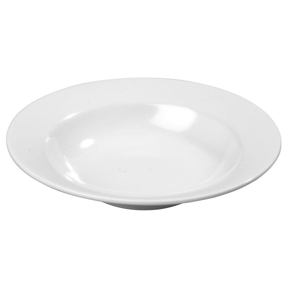 "Carlisle KL12302 7.75"" Round Salad Bowl w/ 8-oz Capacity, Melamine, White"