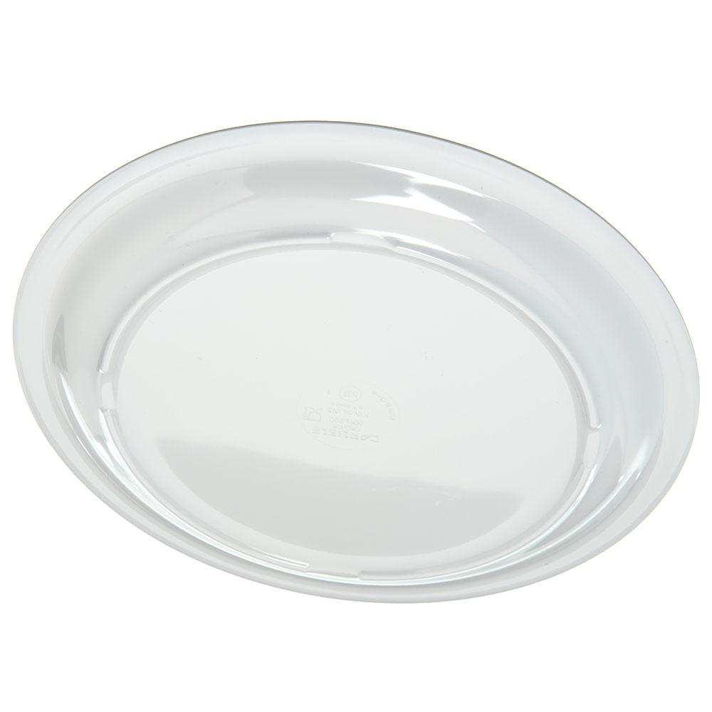 """Carlisle KL20002 9"""" Round Dinner Plate - Melamine, White"""