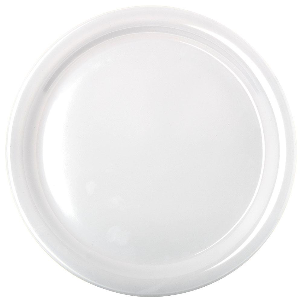 """Carlisle KL20002 9"""" Kingline Dinner Plate - Melamine, White"""
