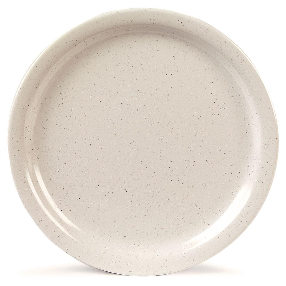 "Carlisle KL20070 9"" Round Dinner Plate - Melamine, Adobe"