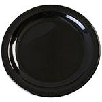 "Carlisle KL20403 6-1/2"" Kingline Pie Plate - Melamine, Black"