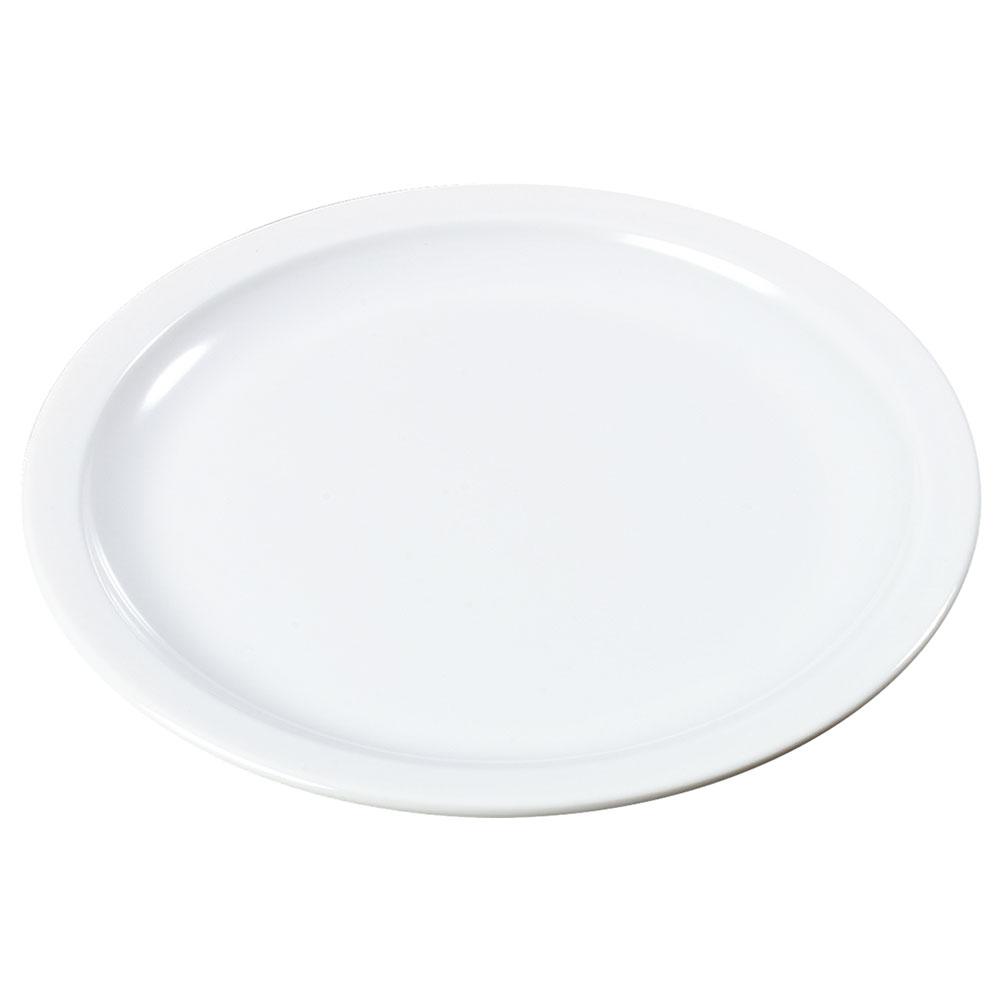 """Carlisle KL20502 5-1/2"""" Kingline Bread/Butter Plate - Melamine, White"""