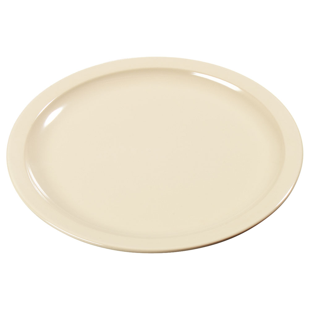 "Carlisle KL20525 5-1/2"" Kingline Bread/Butter Plate - Melamine, Tan"