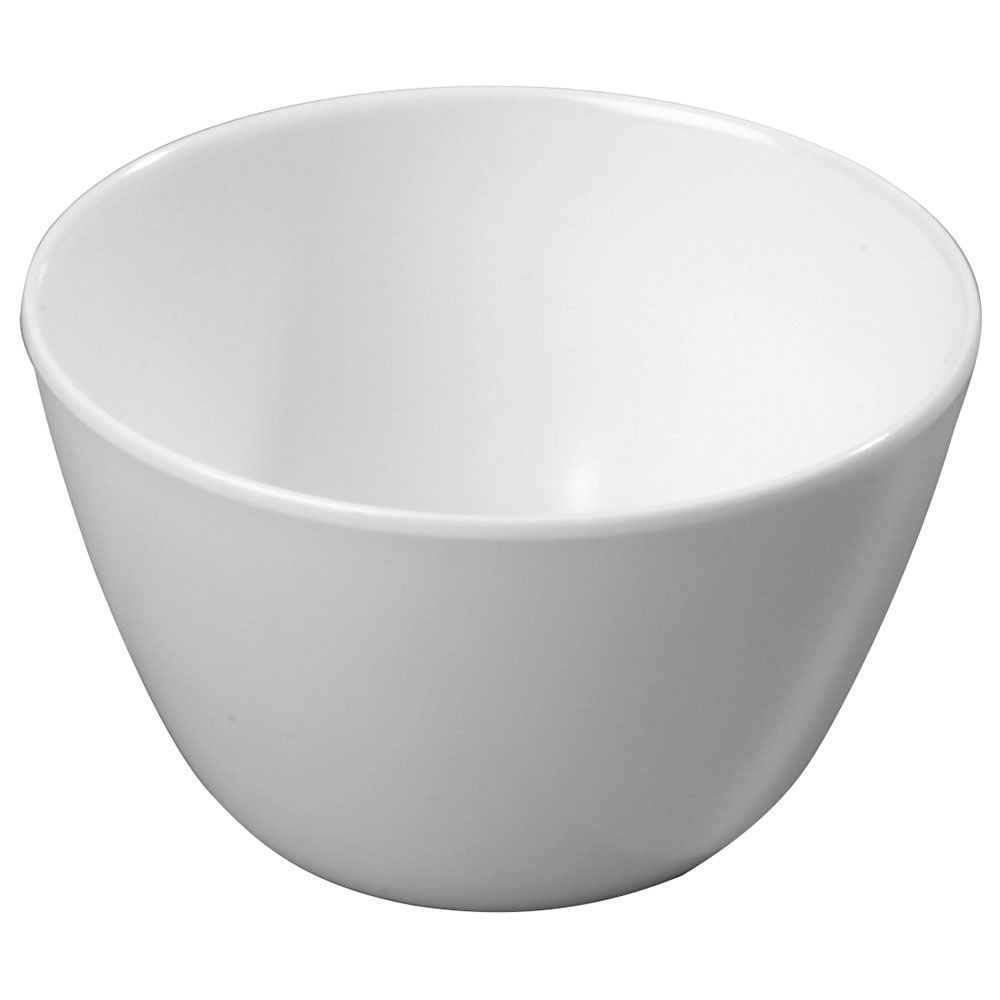 Carlisle KL35002 8-oz Kingline Bouillon Cup - Melamine, White