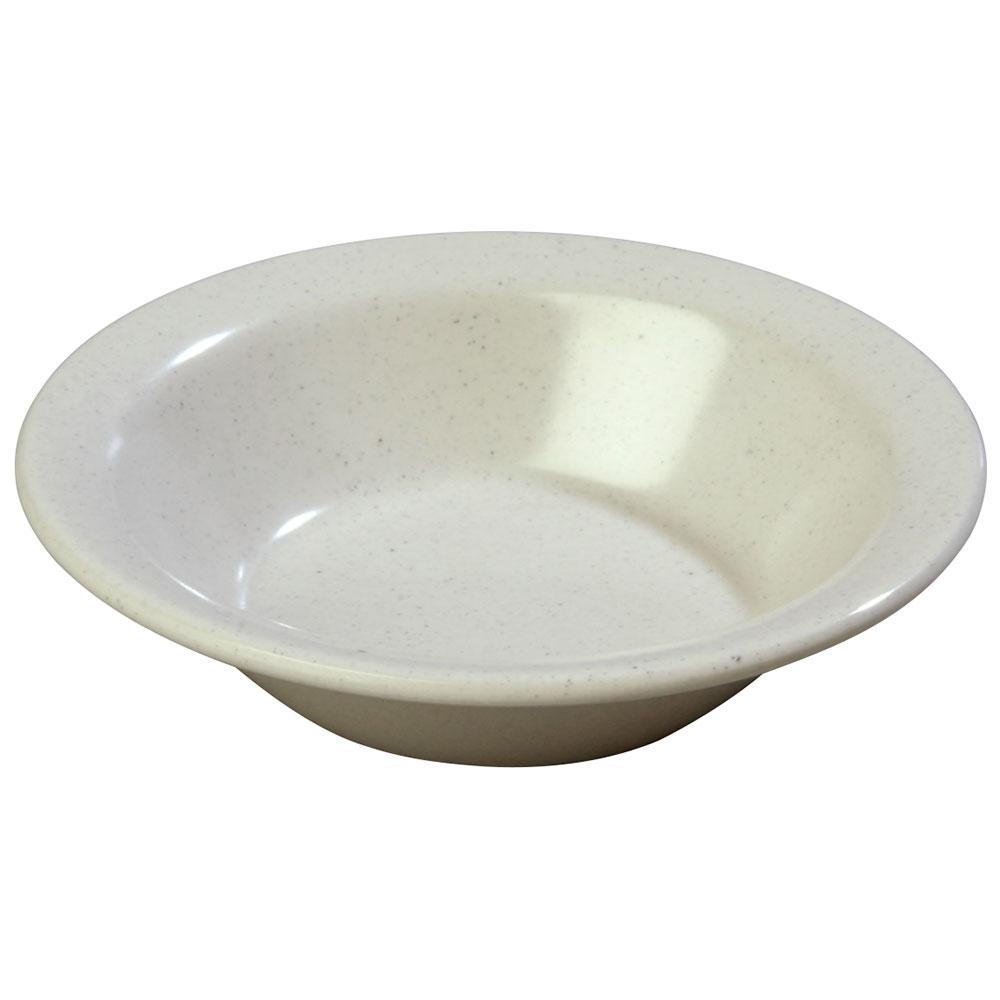 Carlisle KL80070 5-oz Kingline Rimmed Fruit Bowl - Melamine, Adobe