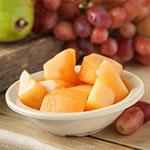 """Carlisle KL80502 4.5"""" Round Fruit Bowl w/ 4.75-oz Capacity, Melamine, White"""