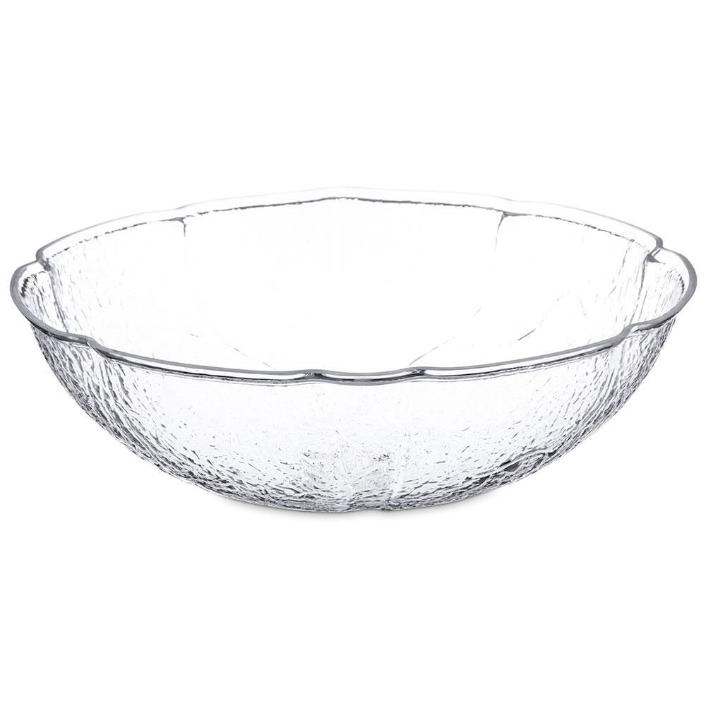 "Carlisle LB1607 15.25"" Round Serving Bowl w/ 8-qt Capacity, Acrylic, Clear"