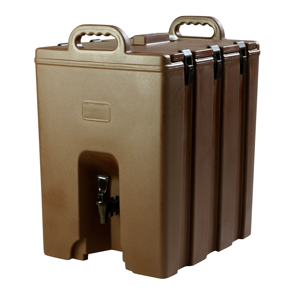 Carlisle LD1000N01 10-gal Beverage Server - Insulated, Brown