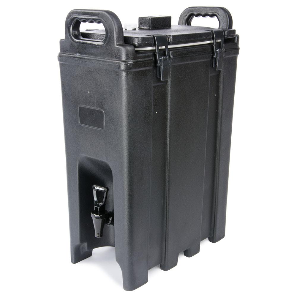 Carlisle LD500N03 5-gal Beverage Server - Insulated, Polyethylene, Black