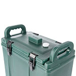 Carlisle LD500N08 5-gal Beverage Server - Insulated, Polyethylene, Forest Green
