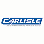 "Carlisle CD203603 Bus Cart Panels - 18x36"" Door and Back Panel, Polypropylene, Black"