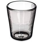 Carlisle MIN544018 14-oz Mingle Double Old Fashioned Glass - Tritan, Smoke Gray