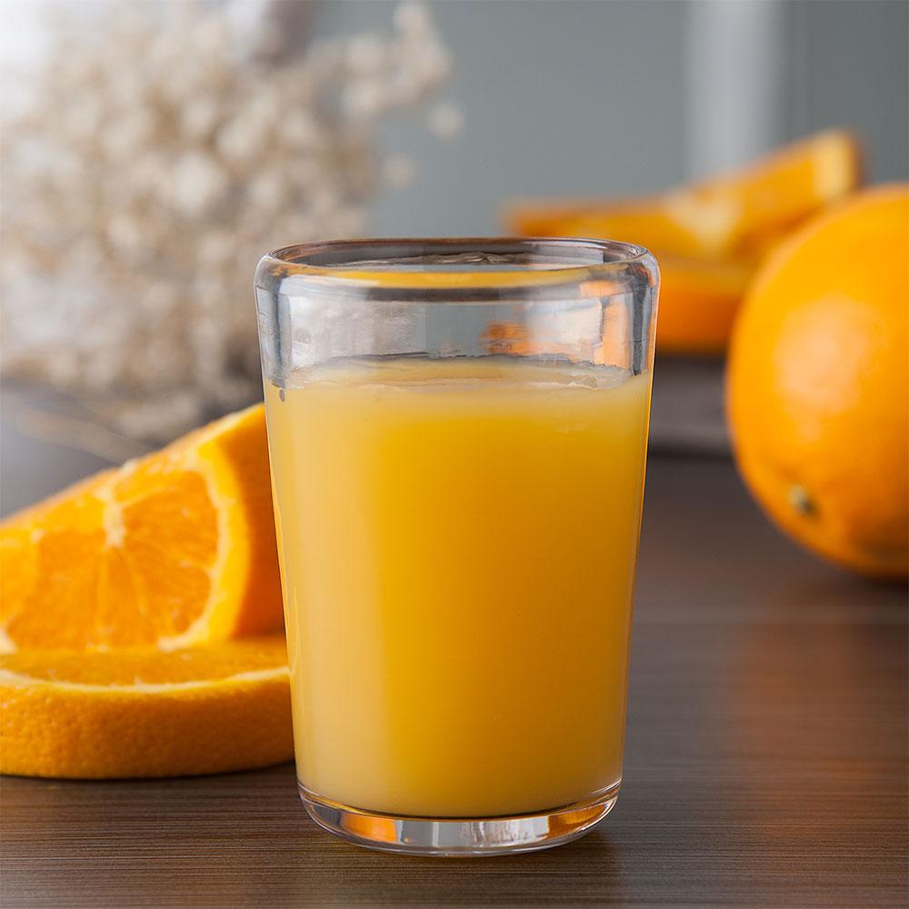 Carlisle MIN544107 6-oz Juice Glass - Plastic, Clear