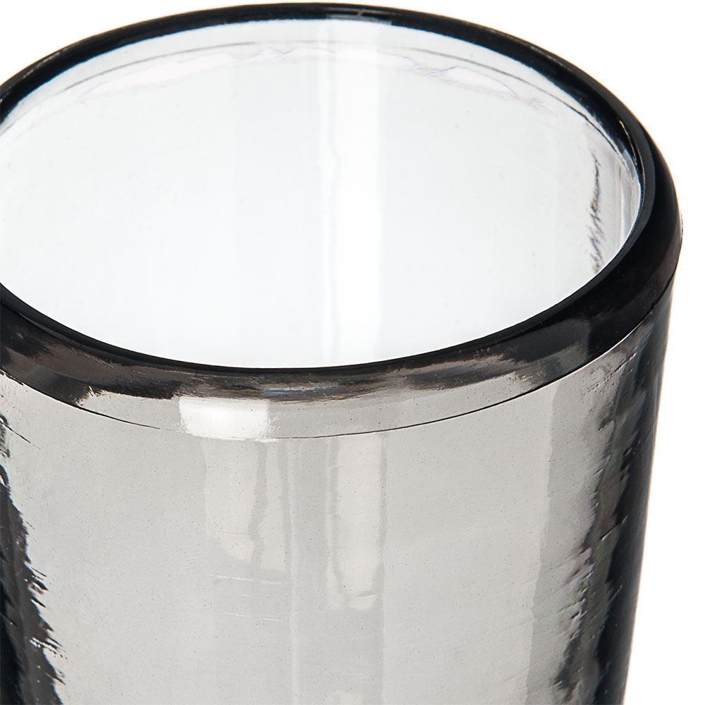 Carlisle MIN544118 6-oz Juice Glass - Plastic, Smoke Gray