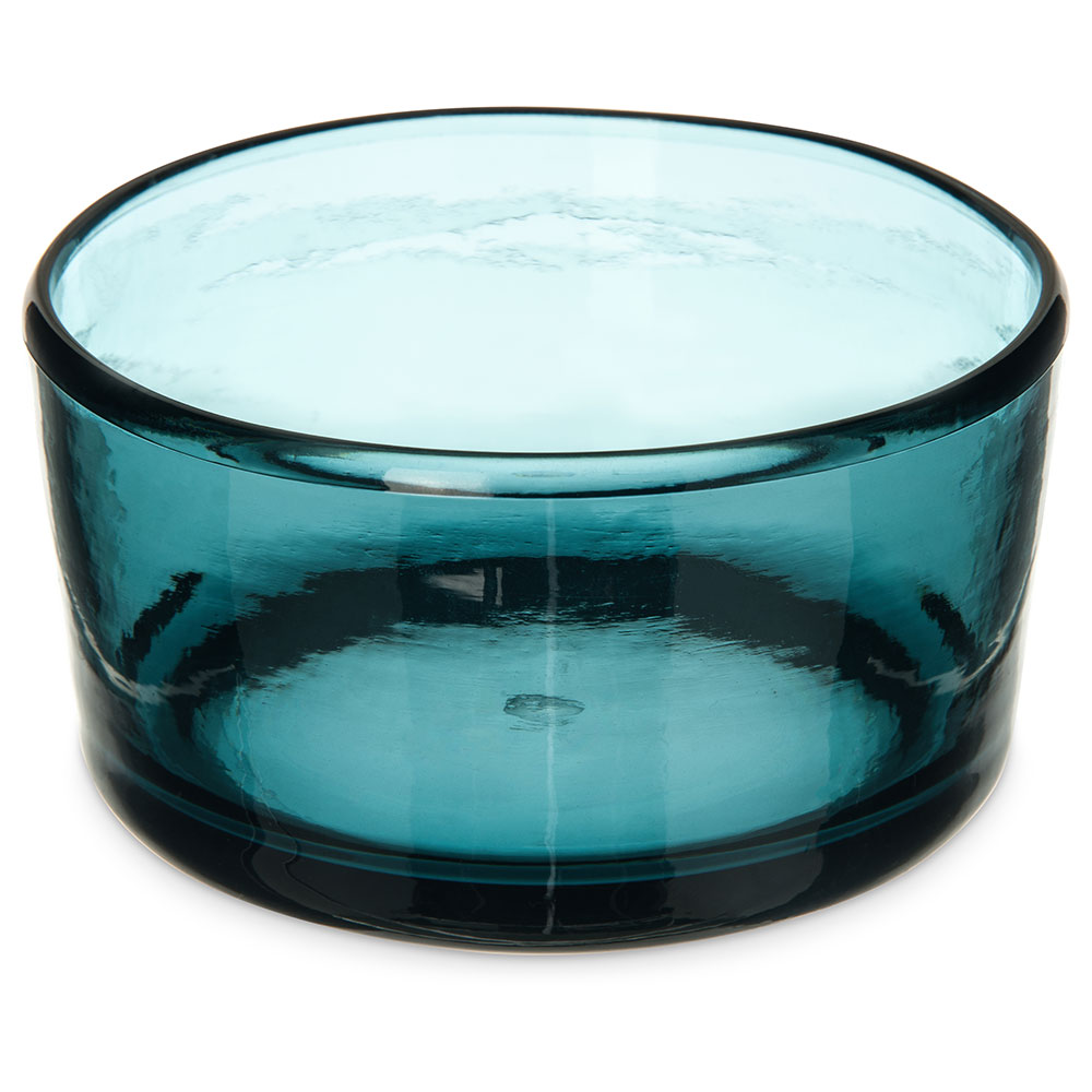 "Carlisle MIN544415 22-oz Mingle Bowl - 5""D, Plastic, Teal"