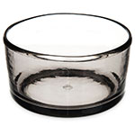"Carlisle MIN544418 22-oz Mingle Bowl - 5""D, Tritan, Smoke Gray"