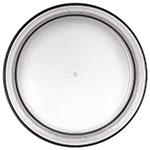 Carlisle MIN544618 5-qt Mingle Serving Bowl - Melamine, Smoke
