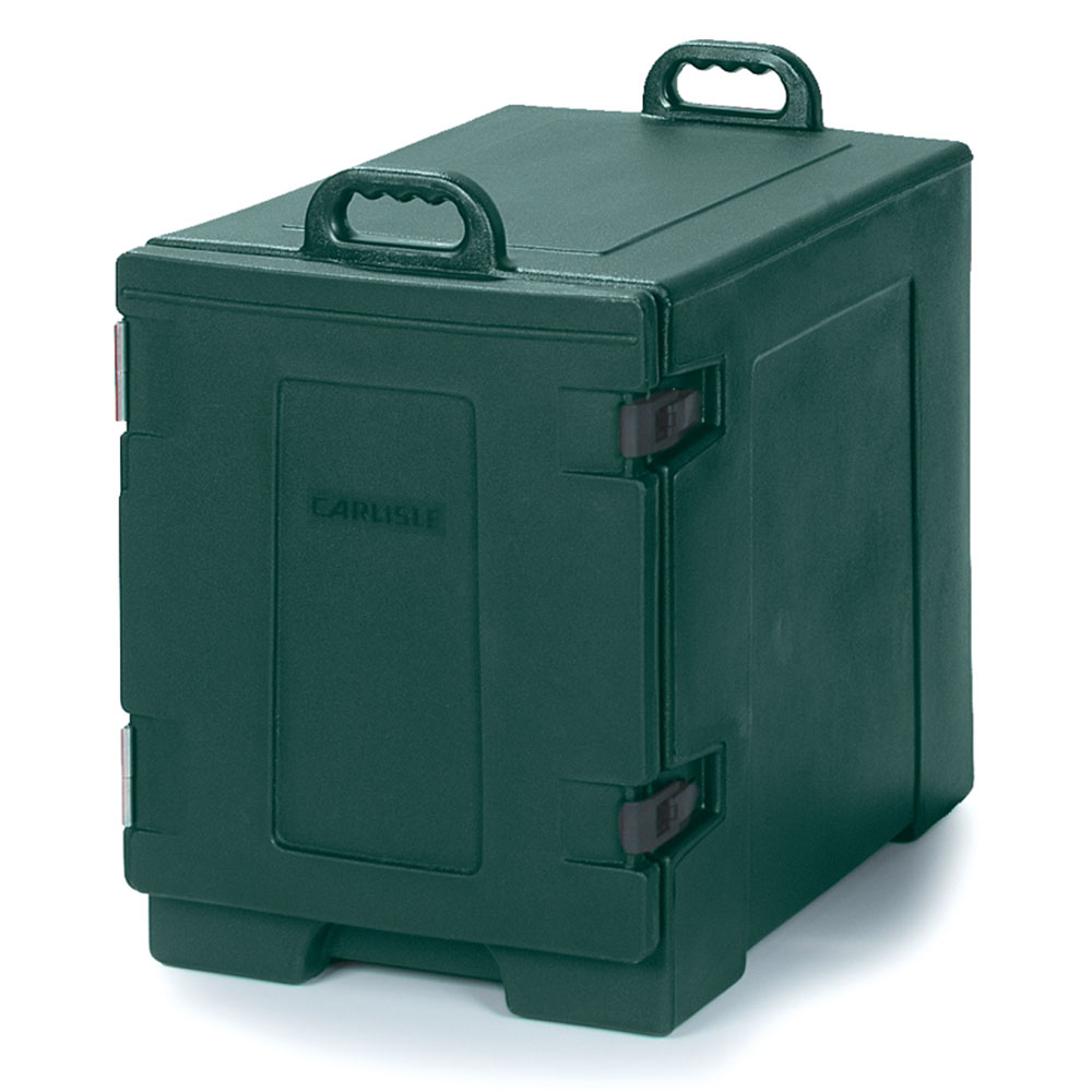 Carlisle PC300N08 End Load Food Carrier w/ (5) Pan Capacity, Polyethylene, Forest Green