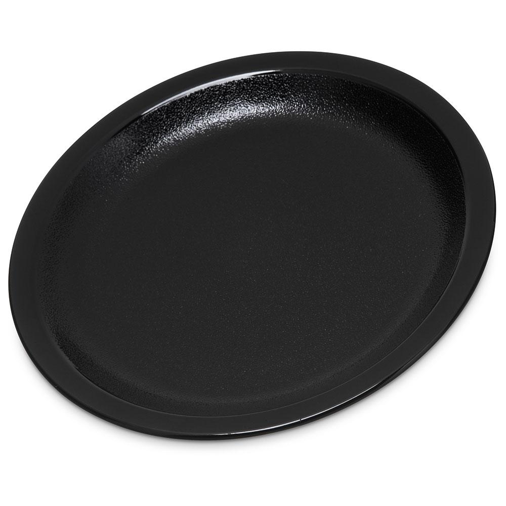 "Carlisle PCD20503 5.5"" Round Plate - Polycarbonate, Black"