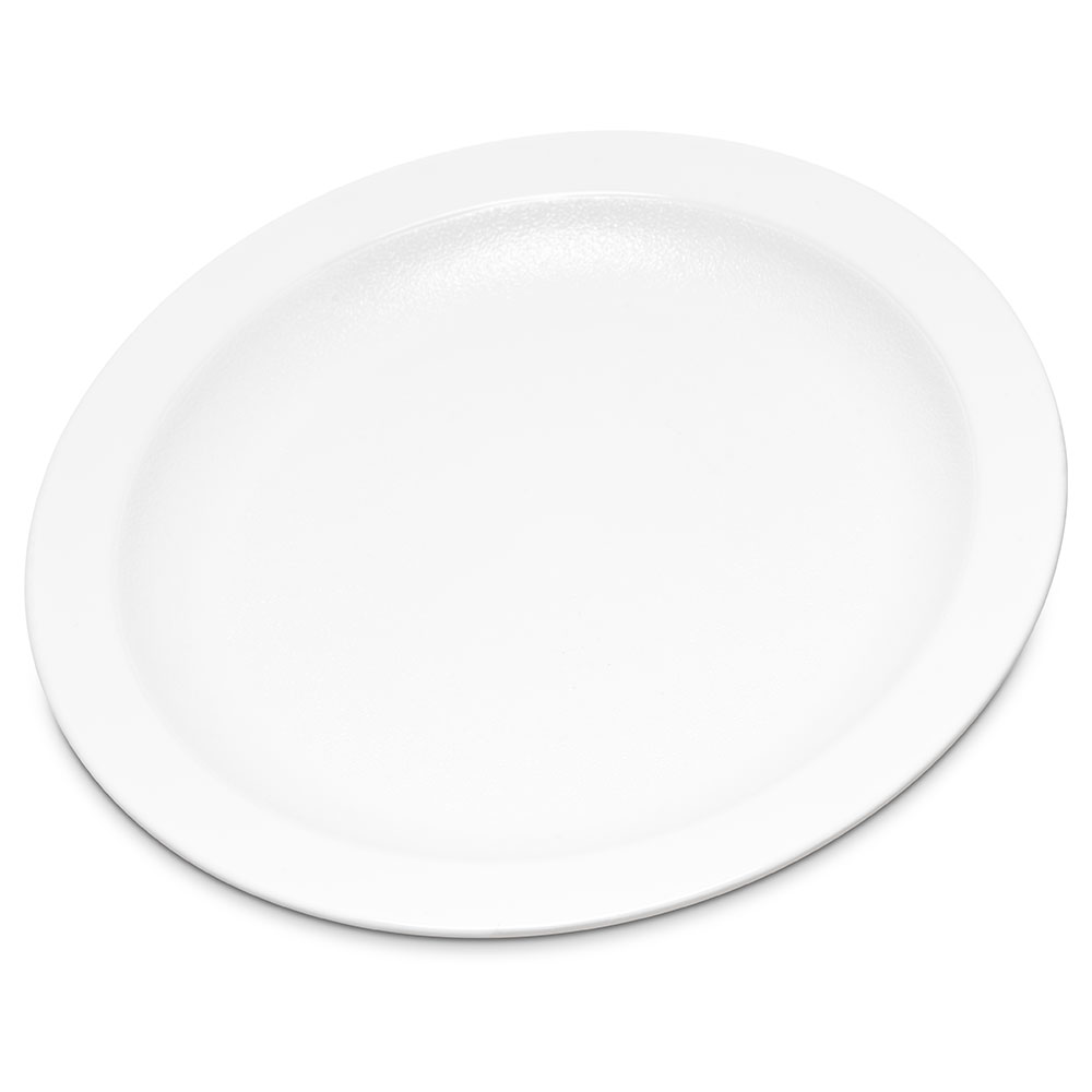 "Carlisle PCD20602 6.5"" Round Plate - Polycarbonate, White"